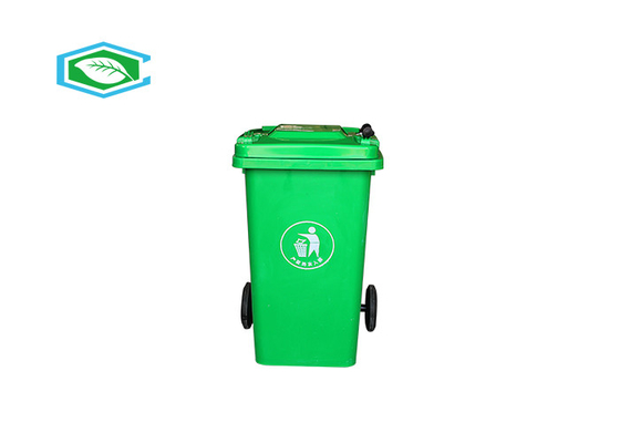 Virgin HDPE 100 Liter 20 Gallon Trash Can Eco Friendly Heavy Wall Construction