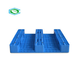 Hygiene Reusable Plastic Pallets Customized Logo Printed 2T Dynamic Load