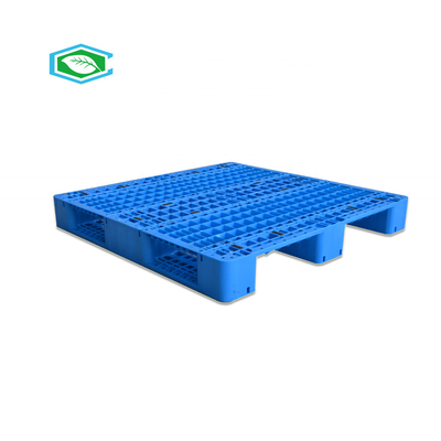 China 1200x1000 Heavy Duty Plastic Pallets Perforated Deck Mesh Surface Static 4 Ton supplier