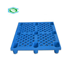 China Rectangle Lightweight Plastic Pallets 1000*800*140mm One Piece Construction supplier
