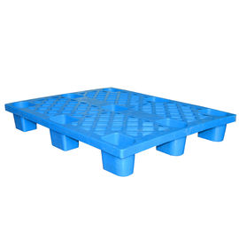 China Cargo Transport Plastic Shipping Pallets Full Perimeter Clip Superior Nesting Ratio supplier