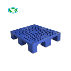 China Rackable 4 Way Reusable Plastic Pallets Single Faced 2 Ton Static Load Capacity supplier