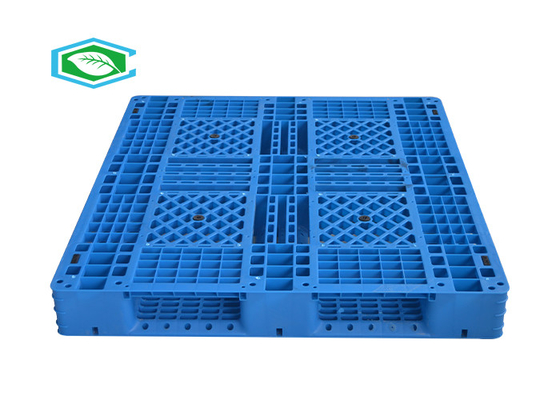 Standard Euro Size Heavy Duty Large Stackable Plastic Pallets Double Sided For Stacking