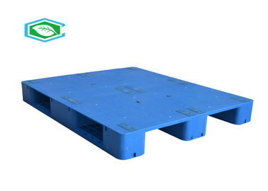 4 Way Custom Size Reusable Plastic Export Pallets Euro Standard With Smooth Surface