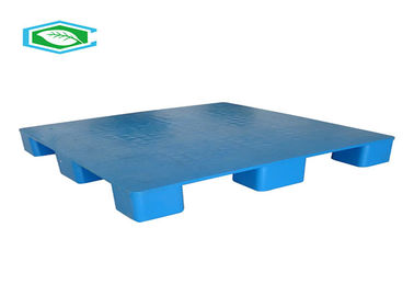 China Blue Color Rectangle Euro Lightweight Plastic Pallets With Smooth Surface supplier