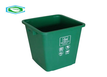 100 Liter Standing Rectangle 20 Gallon Trash Can Eco Friendly Plastic Waste Container