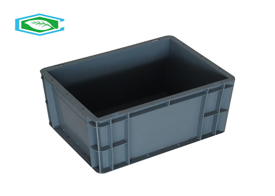 Moving HDPE Plastic Storage Bins Turnover Container Durable Tool Eco - Friendly