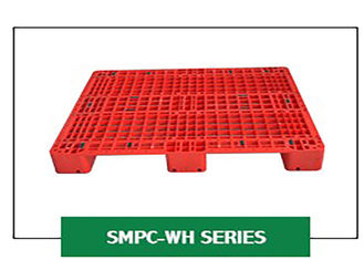 Grid Steel Rackable Reinforced Plastic Pallets 1200*1000*150 Mm Single Injection Mould