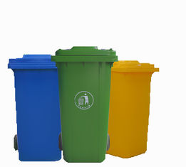 China Anti Slip 26 Gallon Trash Can 120L Recycling Bin 100% Environmentally Friendly supplier