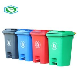 High Capacity 50 Gallon Trash Can For Centralized Recycling And Waste Collection