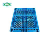 China High Density HDPE Single Faced Pallets Rackable And Stackable Heavy Duty Plastic Pallets company